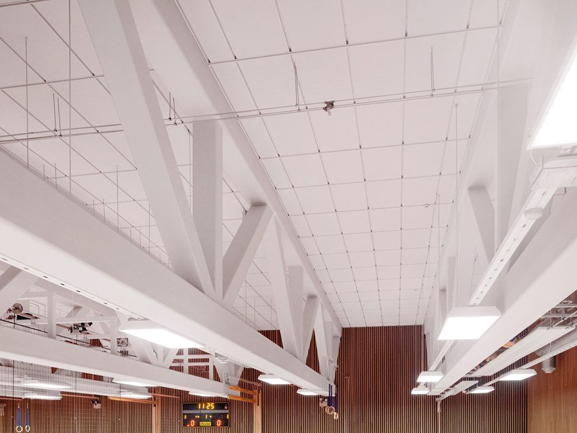 Ceiling systems for special applications ROCKFON® SYSTEM T24 A IMPACT 2A/3A™ by Rockfon