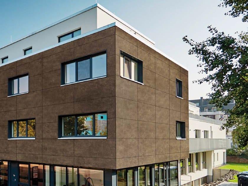Basalt Panel for facade ROCKPANEL STONES by Rockpanel