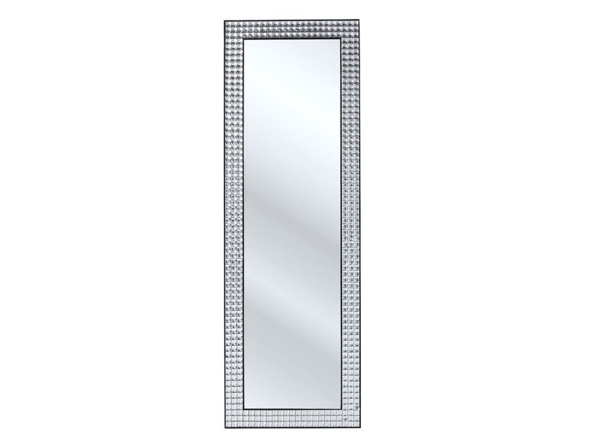 Rectangular wall-mounted framed mirror ROCKSTAR 178 X 60 | Wall-mounted mirror by KARE-DESIGN