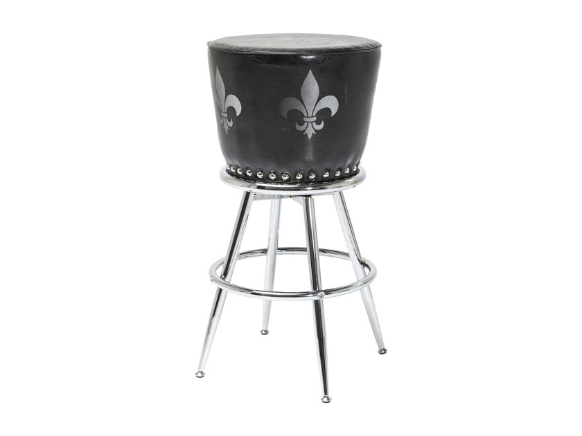 Barstool with footrest ROCKSTAR | Barstool by KARE-DESIGN