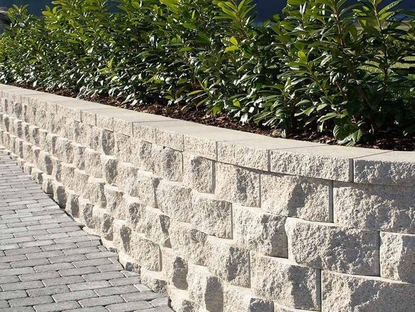 Preventivo Muro Cemento Armato.Autobloccanti In Cls Per Muri Di Contenimento A Secco Rockwood By