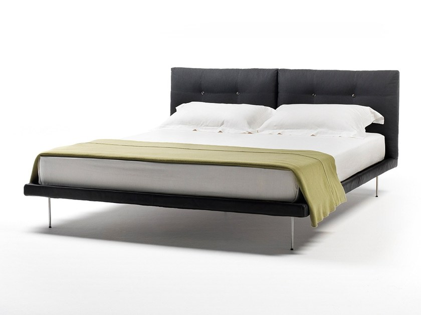Fabric double bed ROD | Bed by Living Divani