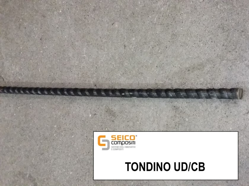 Steel bar, rod, stirrup for reinforced concrete ROD UD/CB by Seico Compositi