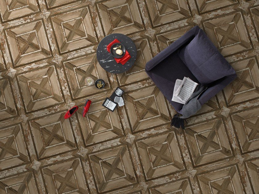 Wall/floor tiles with wood effect RODAS by Absolut Keramika