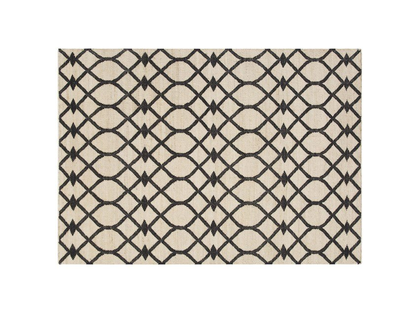 Rectangular rug with geometric shapes RODAS by GAN