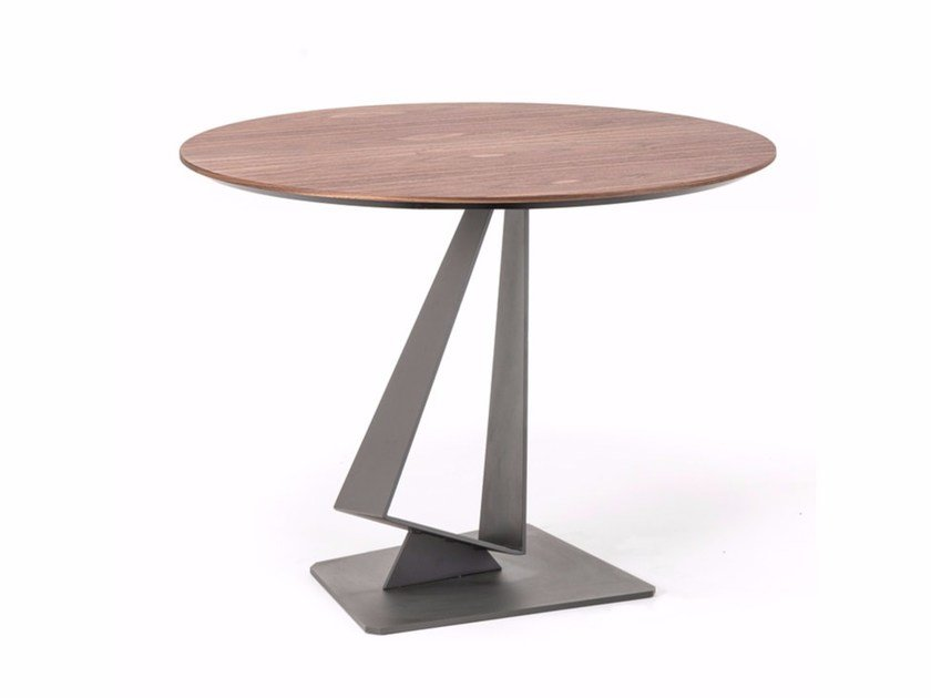 Round wooden table ROGER by Cattelan Italia
