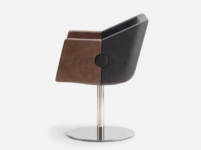 ROK & ROLL | Easy chair with armrests By Cizeta L'Abbate
