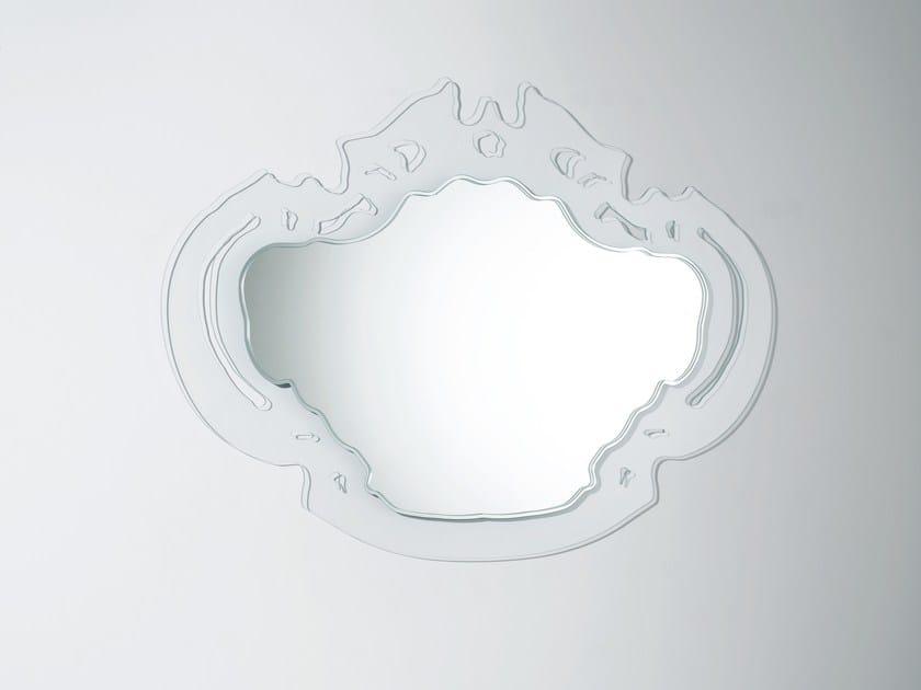 Espelho moldurado de parede ROKOKÒ by Glas Italia
