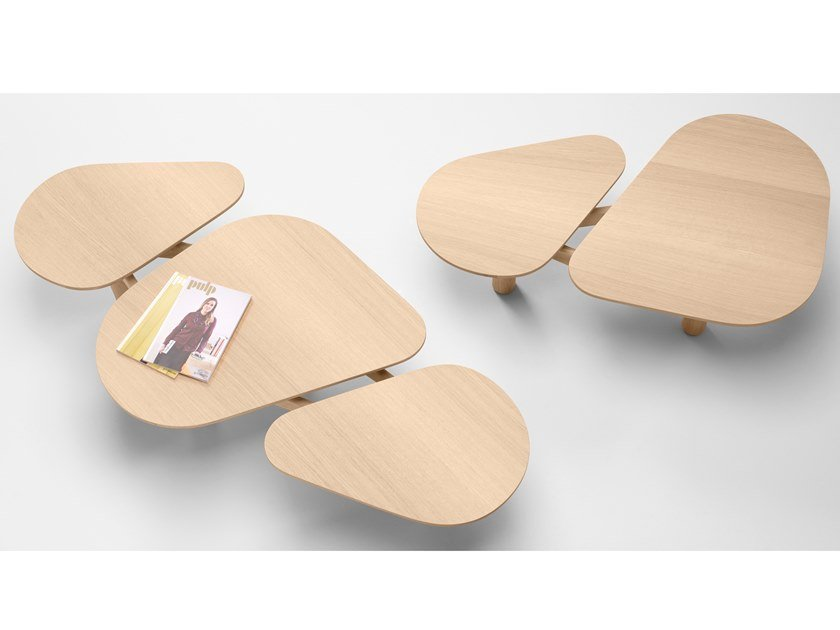 Tavolino in legno massello ROLAND by Bosc