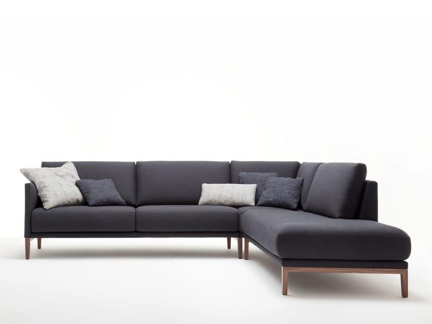 Rolf Benz 009 Cara Sofa With Chaise Longue By Rolf Benz Design Anita Schmidt