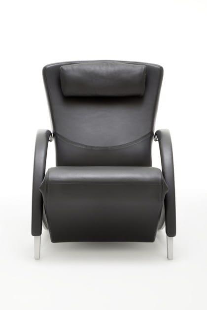 Verstellbarer Sessel Aus Leder Rolf Benz 3100 By Rolf Benz Design