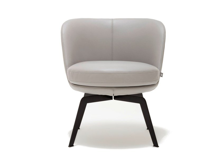 Leather easy chair ROLF BENZ 562 | Leather easy chair by Rolf Benz