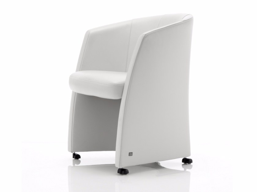 Rolf Benz 7300 Petit Fauteuil A Roulettes By Rolf Benz Design