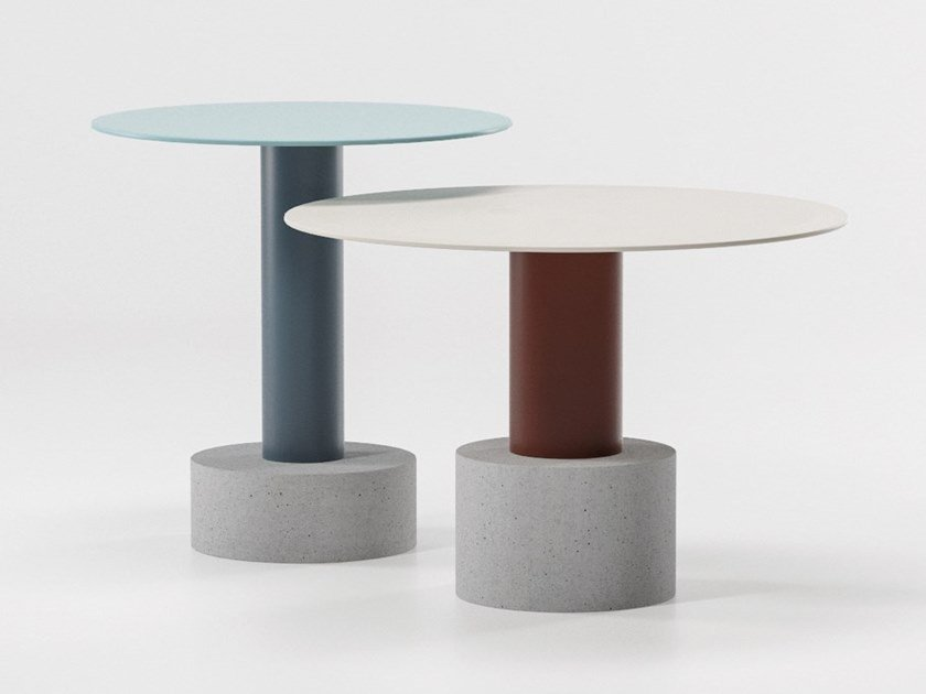 Round coffee table ROLL | Coffee table by Kettal