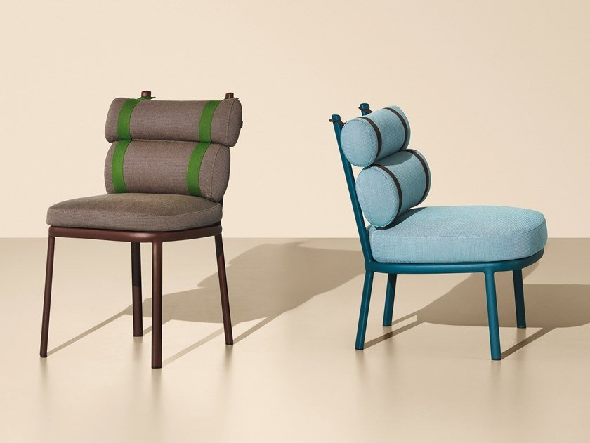 ROLL | Chaise De Jardin Collection Roll By KETTAL Design Patricia Urquiola