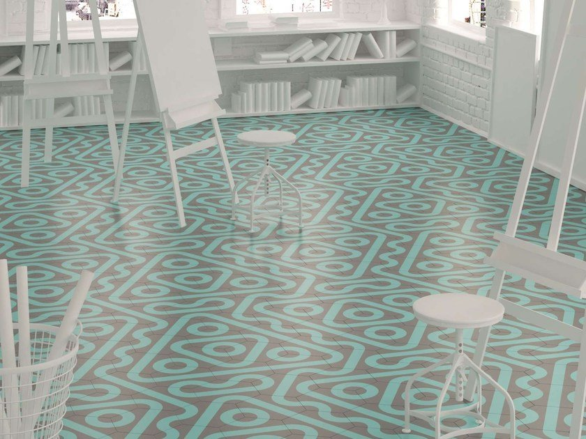 Ceramic wall/floor tiles ROLL by Harmony
