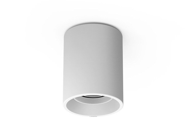 LED aluminium ceiling light ROLL by LANZINI