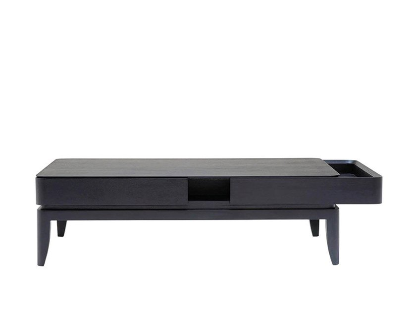 Coffee table with storage space ROLLING by HC28