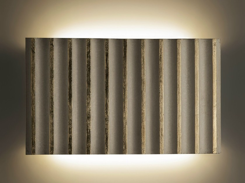 LED cement wall light ROMA CEMENT by ILIDE