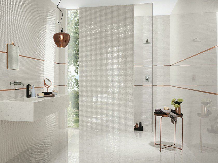 Roma diamond mosaico by fap ceramiche