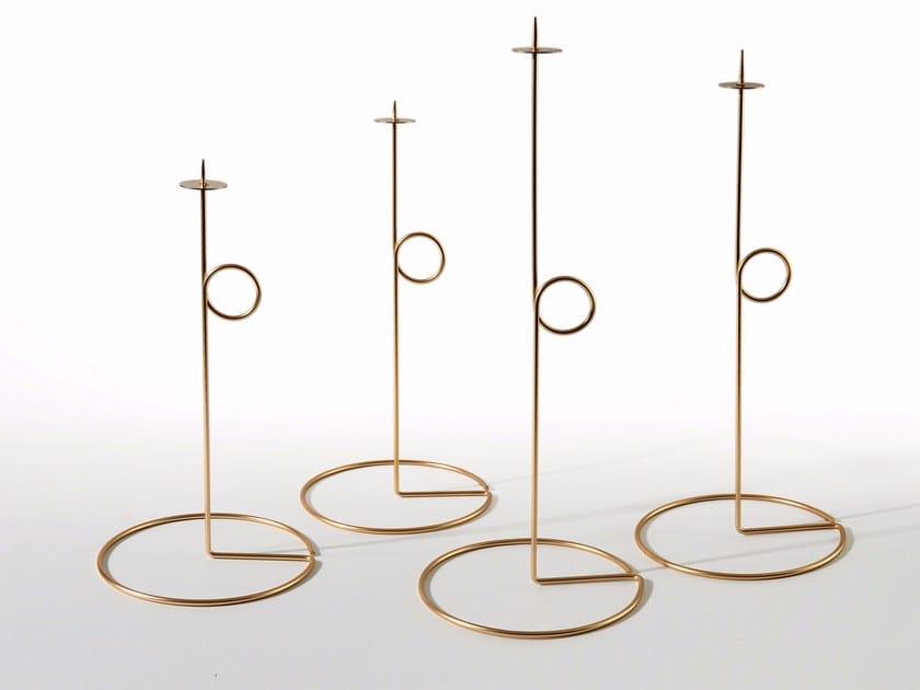 Iron candlestick ROMAN by Atipico