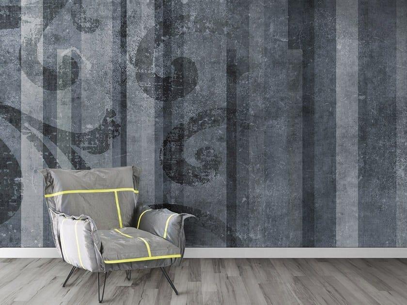 Vinyl or fyber glass wallpaper ROMAN STRIP by N.O.W. Edizioni
