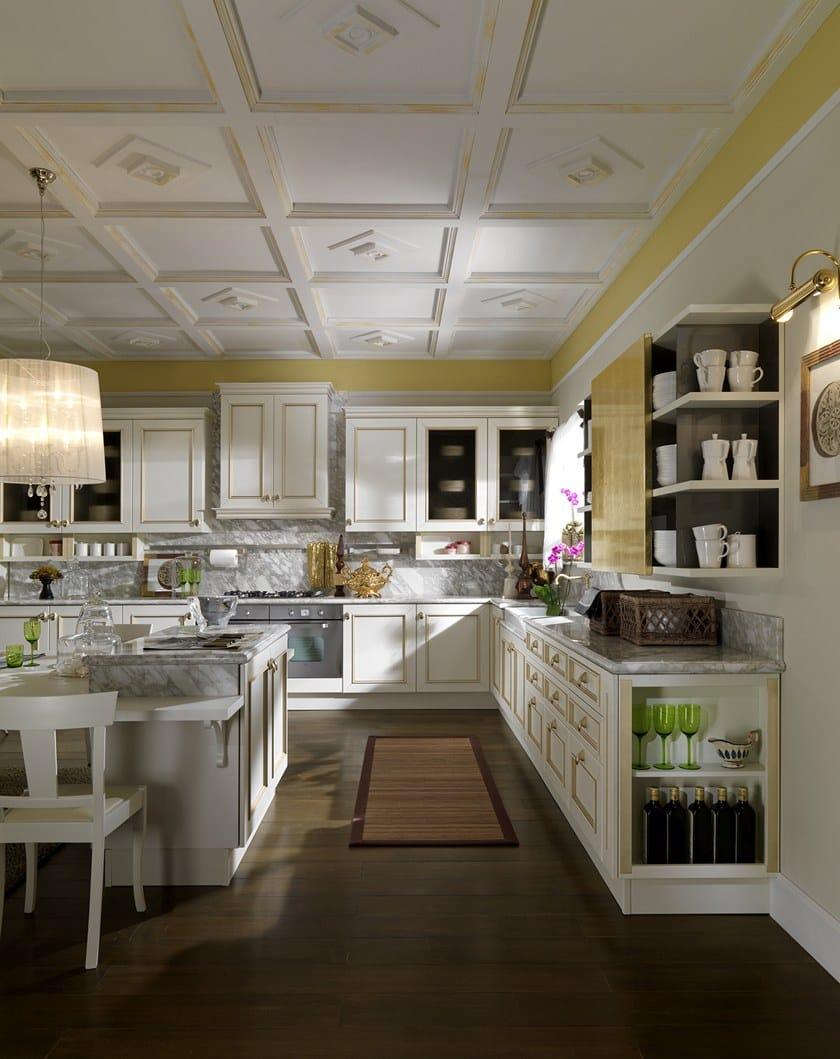 ROMANTICA DECOR | Cucina laccata By Febal Casa design Alfredo Zengiaro