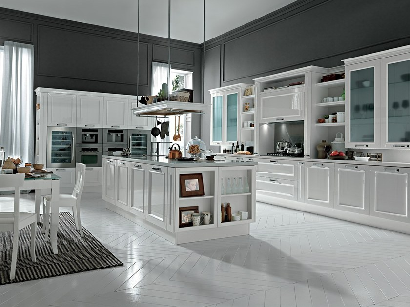 ROMANTICA | Kitchen with island By Febal Casa design Alfredo ...