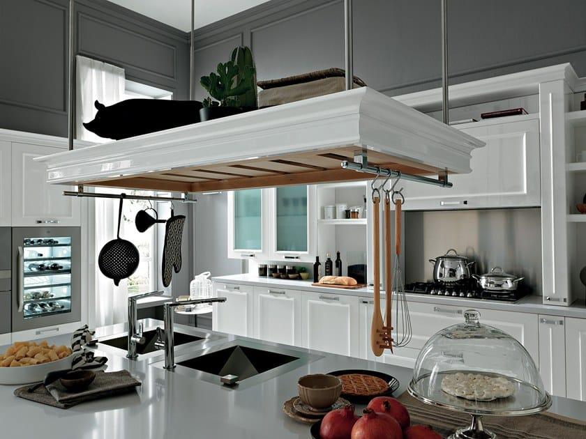 Cucina laccata con isola ROMANTICA | Cucina con isola - Febal Casa