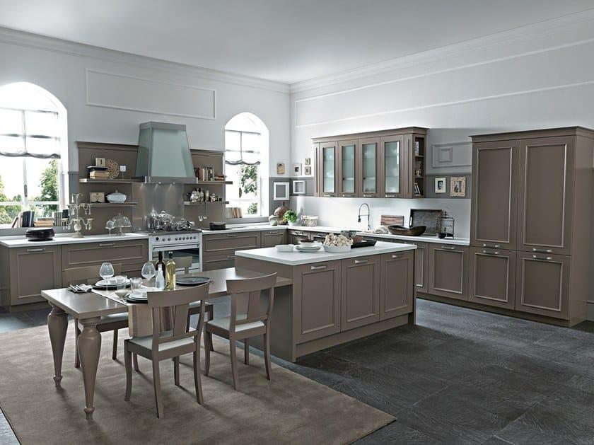 ROMANTICA | Lacquered kitchen By Febal Casa design Alfredo Zengiaro