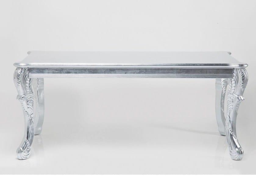 Rectangular MDF table ROMANTICO SILVER by KARE-DESIGN