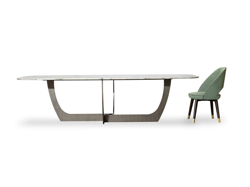 Marble table ROMEO by BAXTER