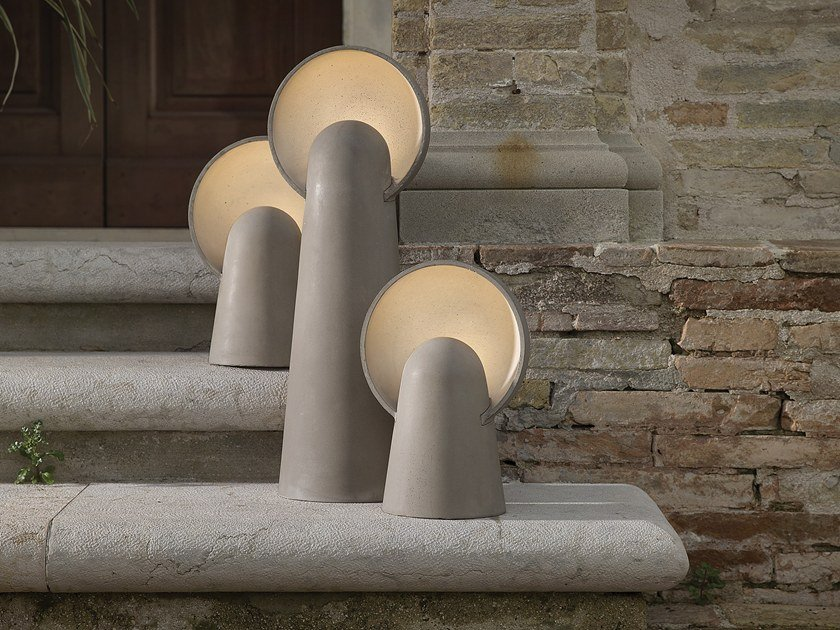 LED cement Floor lamp ROMEO by Karman