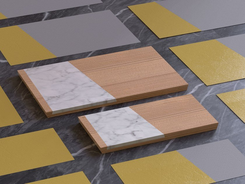 Tray / chopping board RONDINE by MONITILLO MARMI