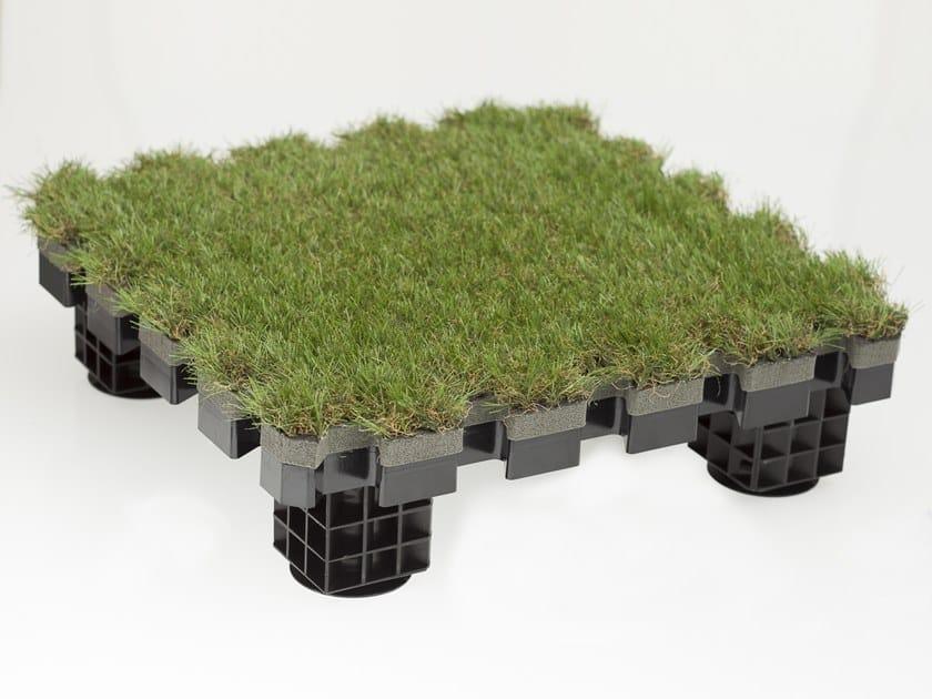 Modulo sopraelevato da esterno con isolamento termico ROOFINGREEN NATURE by Roofingreen