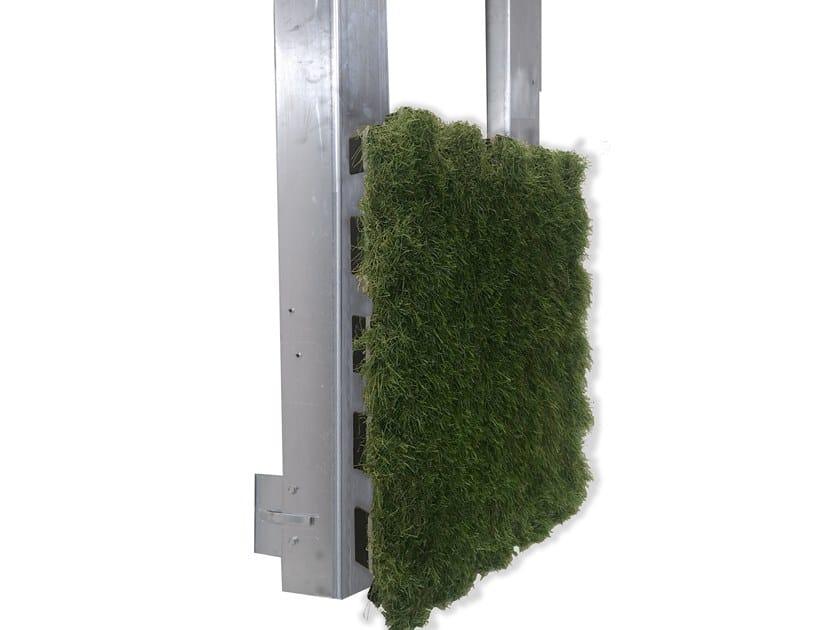Facciata ventilata con finitura esterna in erba sintetica ROOFINGREEN NATURE SIDE by Roofingreen