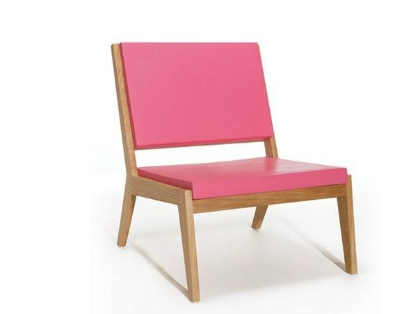 Wooden easy chair ROOM 26 SEAT 01 by Quinze & Milan