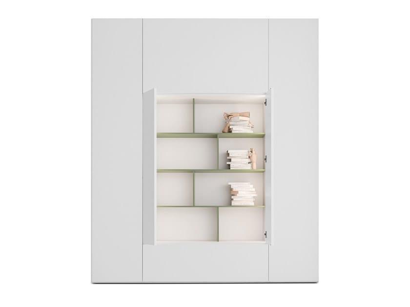 Libreria componibile in legno ROOMY   Libreria in legno by Caccaro