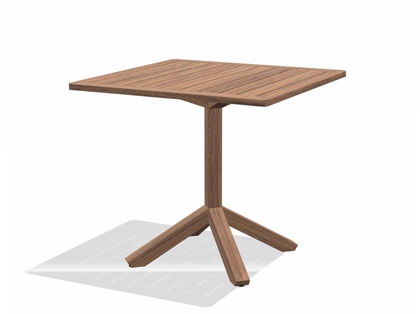Roda Tavoli Da Giardino.Tavolo Da Giardino Quadrato Root Tavolo Quadrato Roda