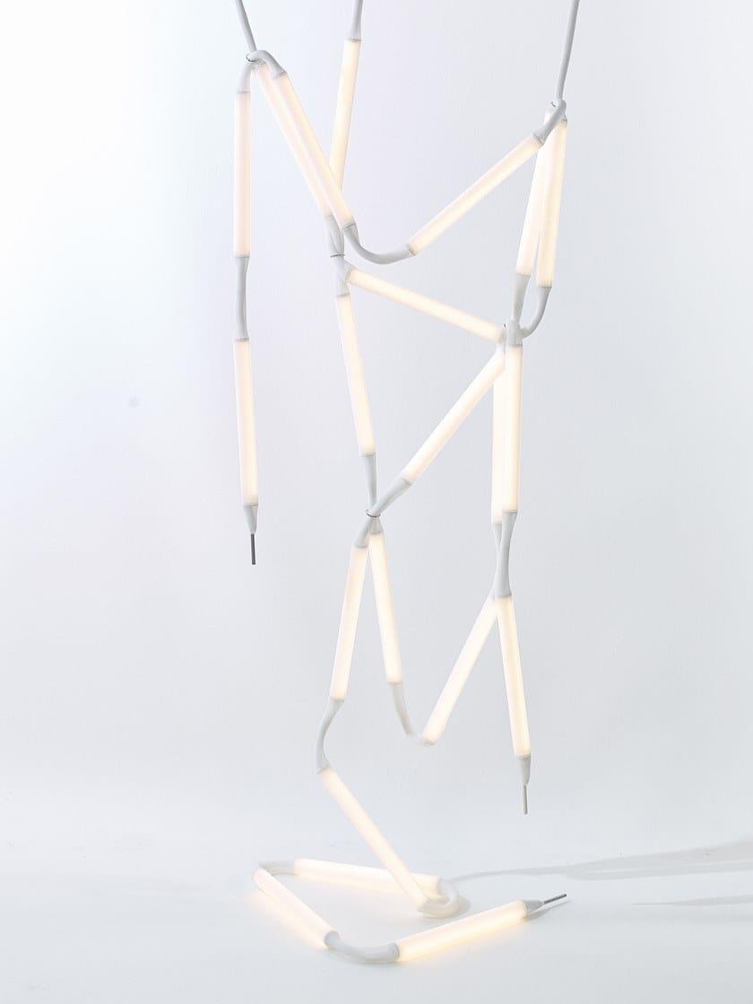 Akttem Lampada Chandelier Sospensione A Rope Light Led kiPXZOu