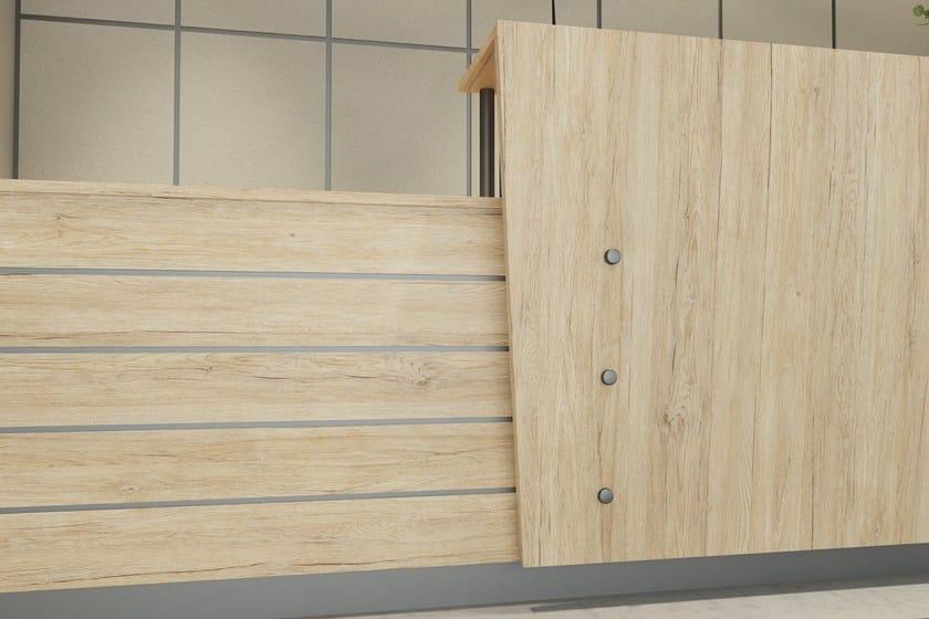 Rivestimento per mobili adesivo in pvc effetto legno for Pellicola adesiva mobili