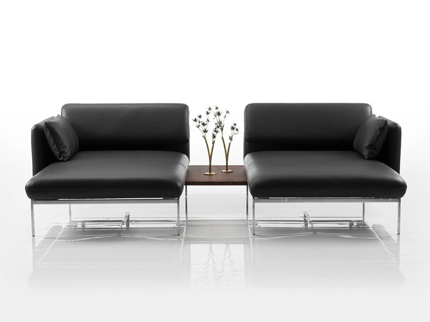 Recliner 2 Seater Leather Sofa Roro Collection By Brühl Design Roland Meyer