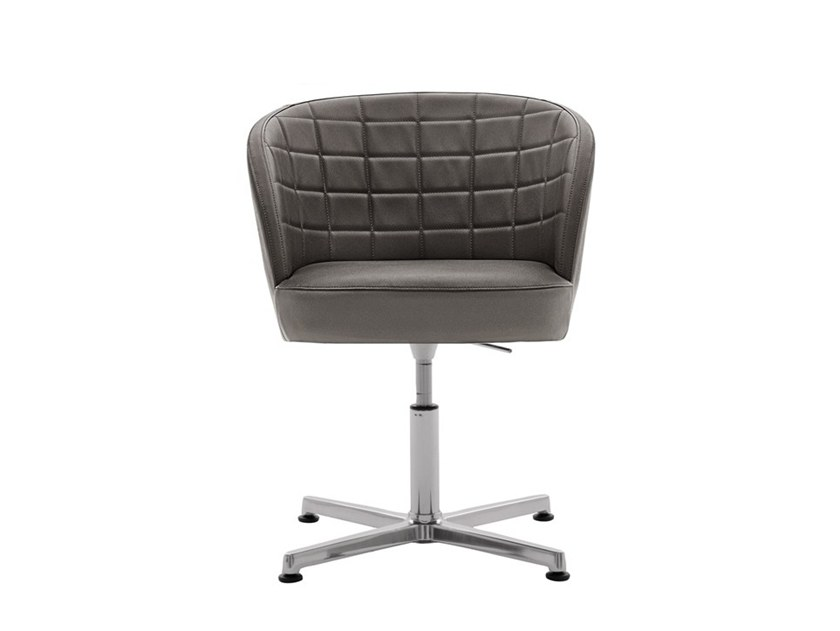 Upholstered height-adjustable chair ROSE 03035 by Montbel