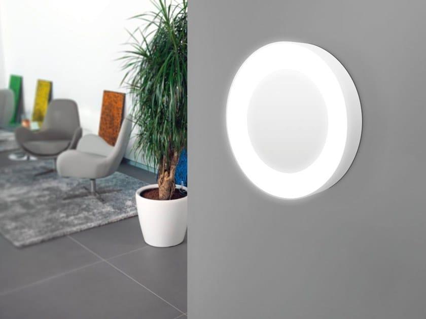 Applique Esterno Moderno : Applique per esterno a led a luce diretta in plastica in stile