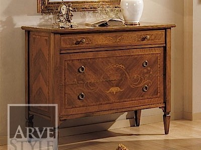 Solid wood chest of drawers ROSSINI   Chest of drawers by Arvestyle