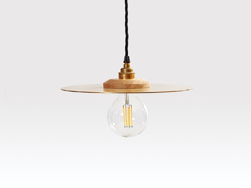 Brass pendant lamp ROSWELL LARGE by Liqui Contracts