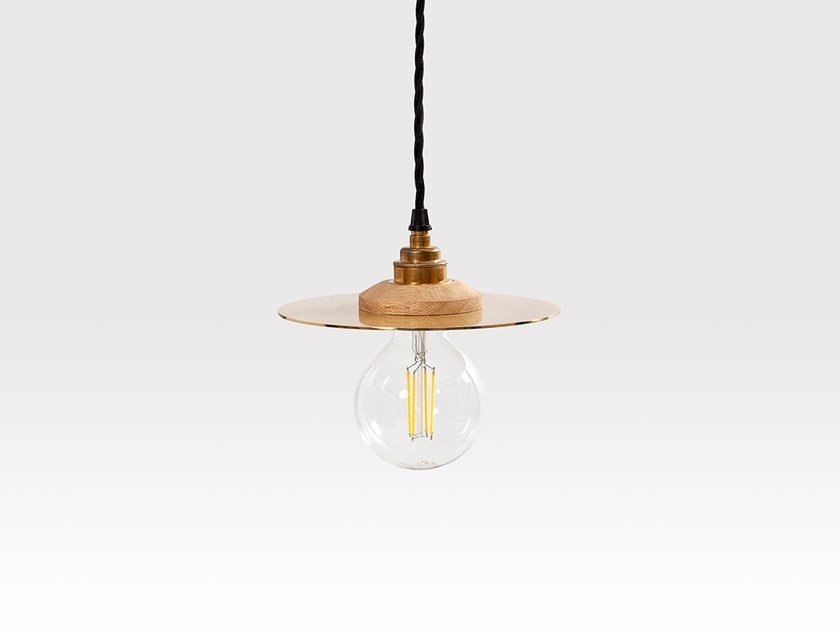 Brass pendant lamp ROSWELL SMALL by Liqui Contracts