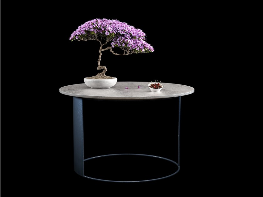 Round coffee table for living room ROUND by FILODESIGN