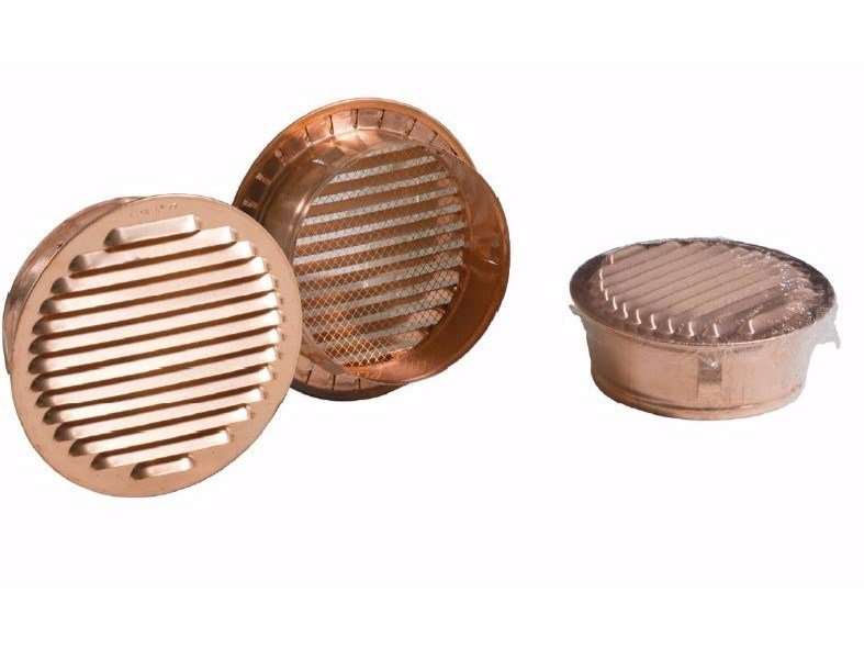 Round copper air vent ROUND FIXED GRILL by Dakota