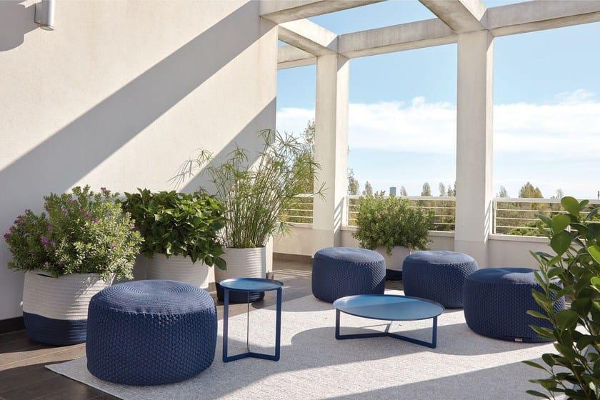 Round outdoor tavolino da giardino by meme design